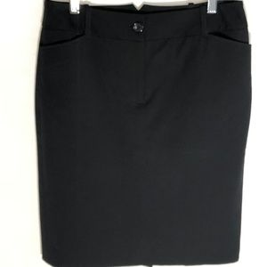 Ann Taylor LOFT Black Skirt
